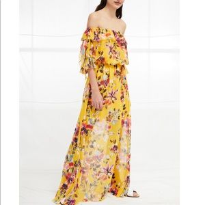 French connection Linosa Off The Shoulder Maxi